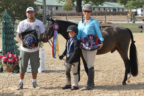 Sienna Pilla and Beaucatcher in their champion presentation. Photo copyright Jennifer Wood Media, Inc.