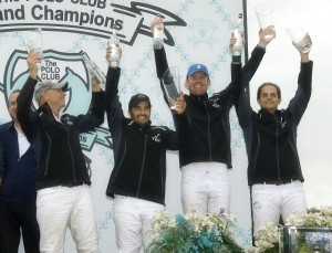 Winners of the Beluga Cup from left to right, ELG teammates Avery Chapman (1), Guille Aguero (2), Kris Kampsen (3) and Carlucho Arellano (4). Photo by Scott Fisher