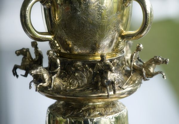 A close-up of the USPA International Cup that Team USA captured for the second consecutive year. Photo by Scott Fisher