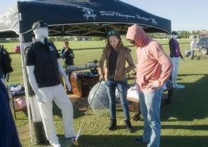 Polo fans checking out the apparel at the Grand Champions Boutique. Photo by Scott Fisher