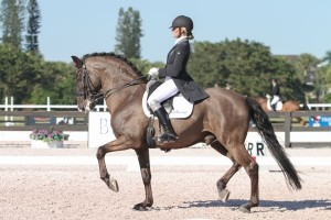 Silvia Rizzo and Sal in their first competition together