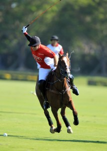Marc Ganzi, one of the world's top-ranked amateur players, will lead  the Audi Polo Team.