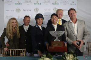 Paige Bellissimo, Todd Minikus, Candice King, Kent Farrington, Donald Trump, and Mark Bellissimo