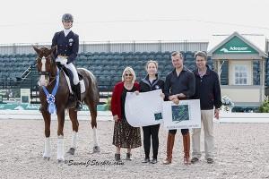Caroline Roffman and Bon Chance with Natalie Lamping,  Bethany Peslar, Endel Ots, and Thomas Baur.