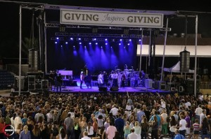 The main stage where Hunter Hayes performed as part of the FTI GCC