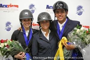 Nicole Bellissimo, Victoria Colvin and Emanuel Andrade