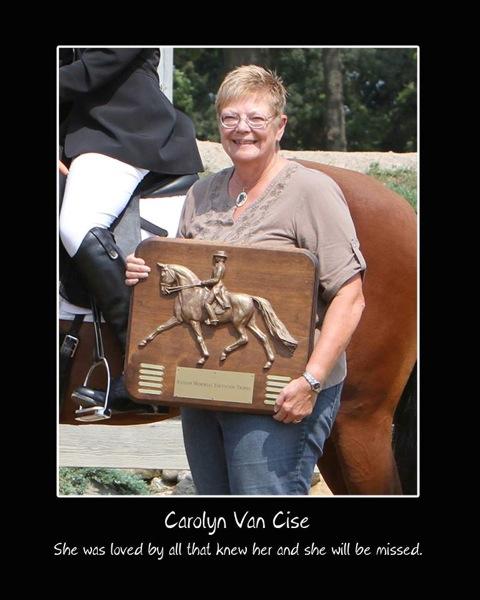 Carolyn Van Cise ransom trophy