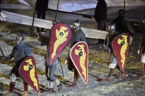 The Battle of Hastings in 1066