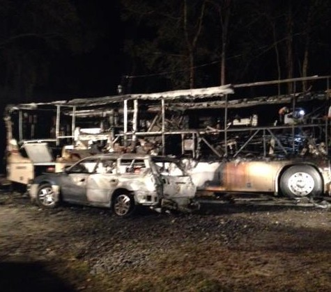 Missy Ransehousen lost her camper and car in a fire on February 23, in Ocala, Florida. (Photo Courtesy of Blue Hill Farm)