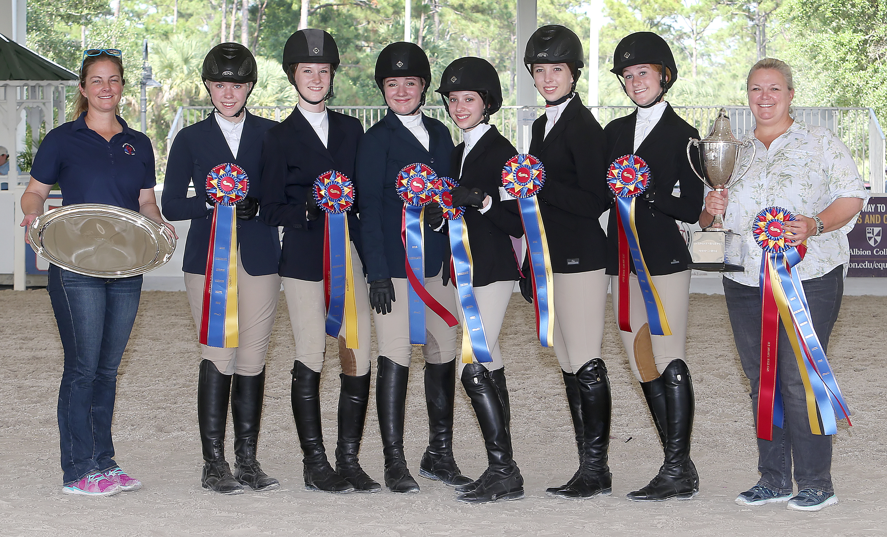 Show World Young Riders Top Performances Mark Iea
