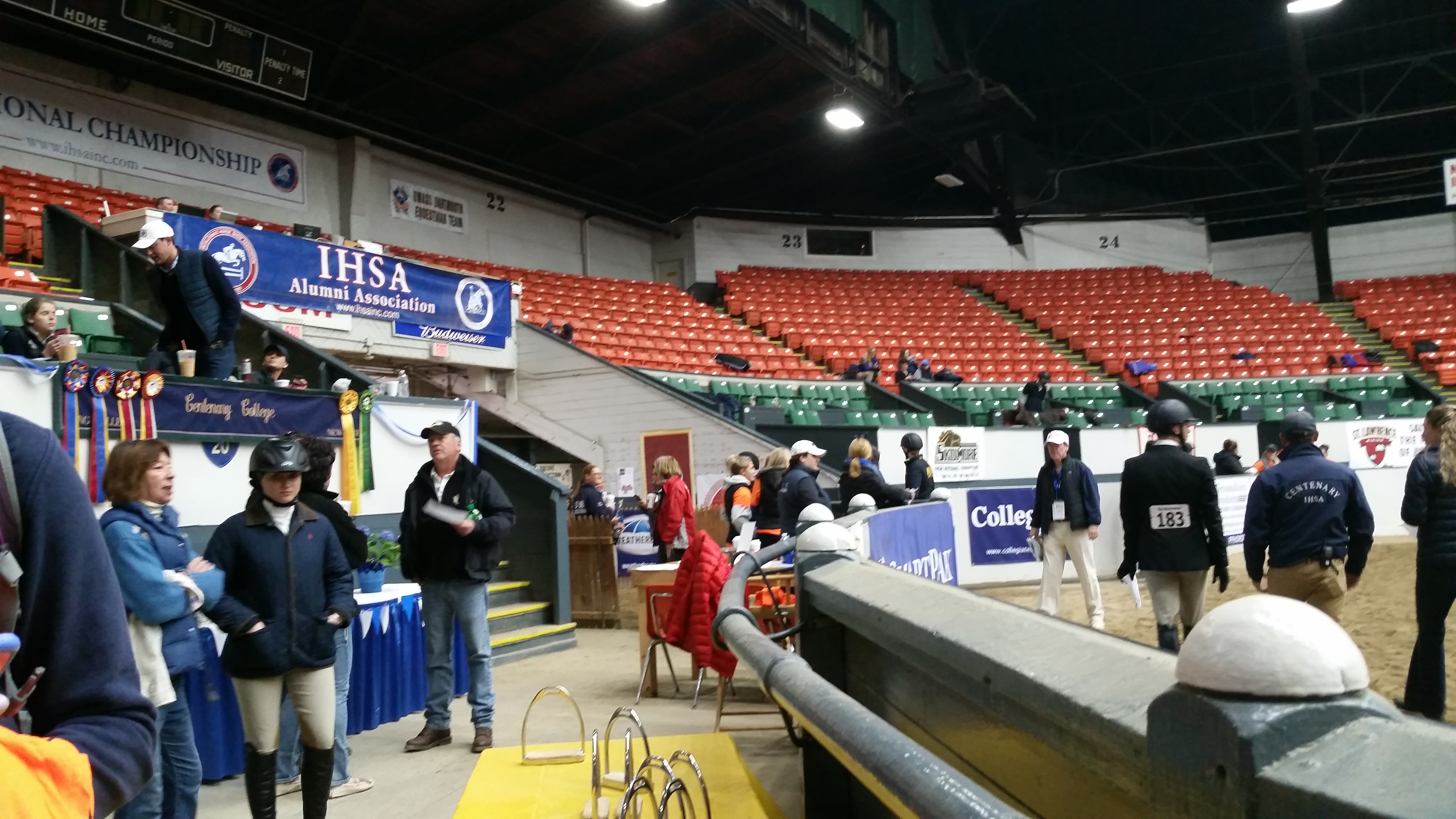 2015 IHSA National Championships are being held April 30–May 3 at the Eastern States Exposition in Springfield, Massachusetts. (Photo credit: Alistaire Ruggiero)