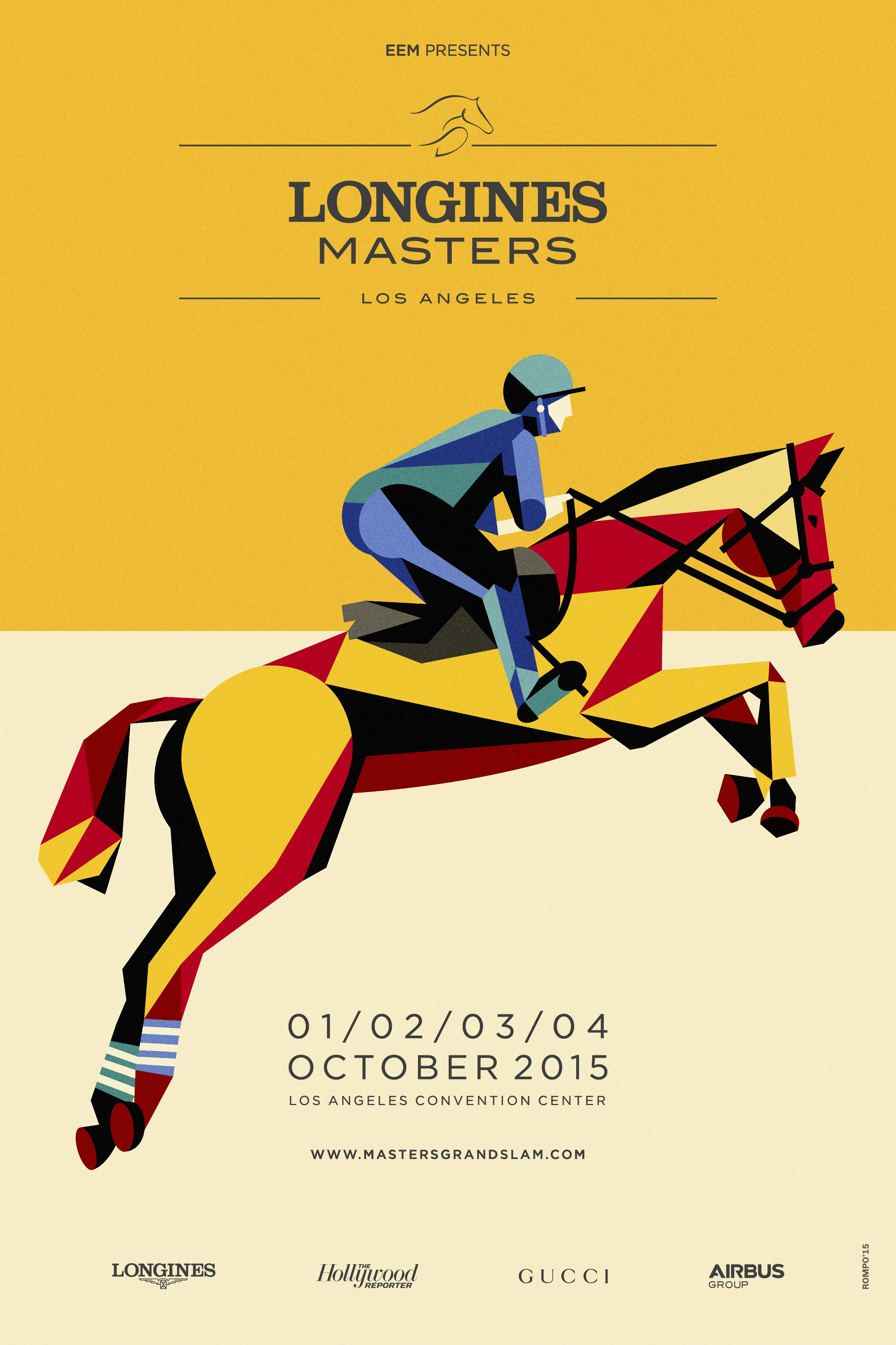EEM is proud to announce that Longines will become the official title partner of the Longines Masters series on three continents. (Photo courtesy of EEM)