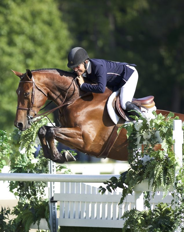 Winners of the $25,000 Hunter Derby Photo:Alden Corrigan Media