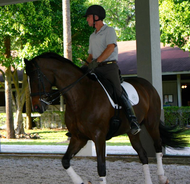 George Williams riding Betsy Juliano's Cleopatra .All photos By