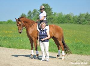 Holly Jacobson aboard George with Hanneke Gerritsen Photo (c) Lindsay McCall