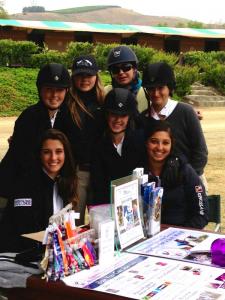 Sarah Abdi (Team Honduras West Coast Co-Captain), Lily Blavin, Francie Steinwedell-Carvin, Emily Mullins, Sarah Mullins, Katie Crampton, and Grady Lyman