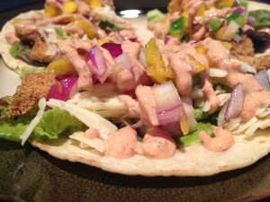 Fish tacos with mango salsa make for an easy dinner for time-strapped equestrians.
