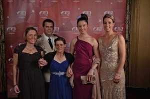 Winners of the FEI Awards 2013 (FEI/Edouard Curchod)