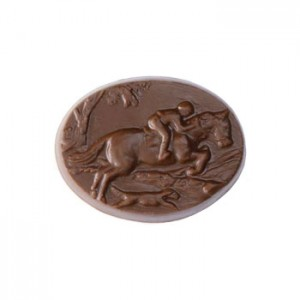 Full Cry chocolate by Dark Horse Chocolates- Almond Butter Crunch in Milk Chocolate.