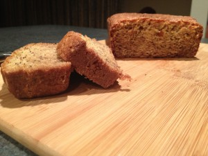 Banana Bread or Gingerbread make great gifts for families.