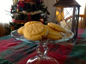 Sugar Cookies pressed with a vintage glass leave you with beautiful results and zero hassle of cutouts.