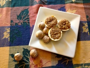 Pecan tassies don't require a lot of heavy lifting -easy, delicious and look beautiful!