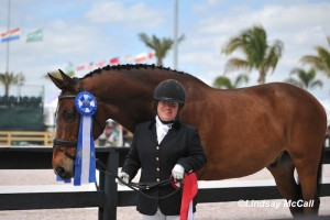 Ellie Brimmer and horse Carino H at the 2013 Para-Equestrian Dressage CPEDI3* competition in Wellington, FL. Photo by Lindsay Y McCall/ PhotoLyte.com