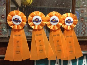 Citrus Series signature orange ribbons