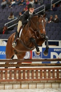 Ivanhoe and Abigail Kaufman won the 2013 Children's Hunter Championship at WIHS