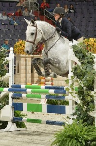 Meredith Darst won the 2013 WIHS Equitation Finals riding Soldier