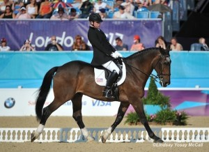 Jonathan Wentz and NTEC Richter Scale at the 2012 London Paralympics.  Photo (C) Lindsay Yosay McCall