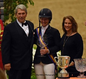 GP victory clinched both the Leading rider title and the leading Lady Rider Title for Beezie