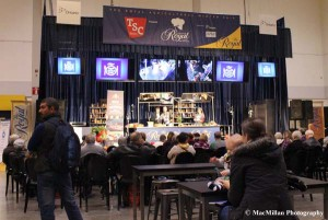 29-Cooking demonstrations were offered at several locations throughout the Royal Winter Fair. Celebrity chefs made appearances and the Canadian dairy council offered classes in cooking with cheese.