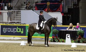 4-Karen Pavicic and Don Daiquiri won the Royal Invitational Grand Prix dressage competition, which included a Grand Prix class on one evening and a Grand Prix Freestyle on the next evening.
