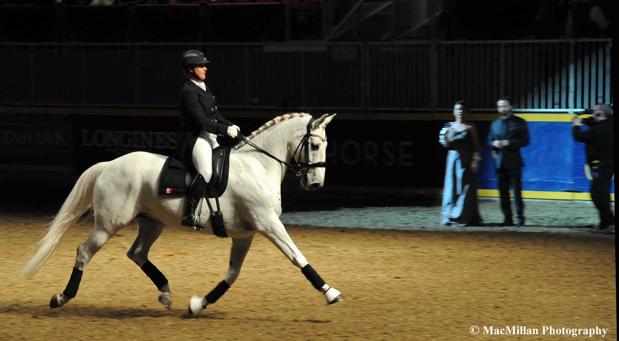 Photo 14 – Canadian Olympian Jacqueline Brooks and her gelding D Niro were third in the 2015 Royal Dressage Invitational.Photo by Shelley Higgins/MacMillan Photography