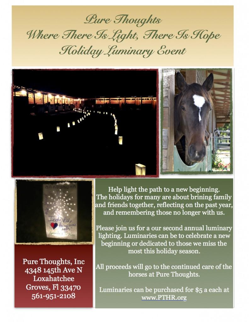 Holiday Luminary $5