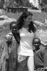 Jennifer Crooks in Ethiopia credit Cathrin Cammett