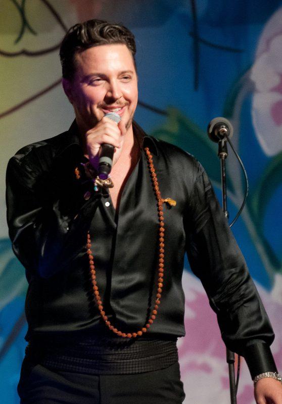 "Max Tucci and guest at the Unicorn Children's Foundation ""Buddha Ball"" Mar-a-Lago Club, The Trump estate in Palm Beach on March 16, 2013. (MagicalPhotos.com/Mitchell Zachs)"