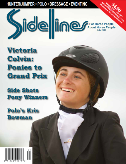 Victoria Colvin is a very versatile young rider – keep an eye on her, because she's going places! Photo by Jack Mancini