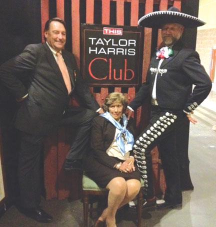 Mason Phelps, Kiki Umla and Pedro Cebulka at the Taylor Harris Club at the 2011 Alltech National Horse Show