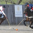 "The International Arena Polo Test Match at Hickstead saw England defeat the USA, 12-9, ensuring the Bryan Morrison Trophy remained in British hands.   The home team featured a blend of youth and experience.  Captaining Team England was nine-goaler Chris Hyde, Europe's highest handicapped arena polo player, who was joined by England debutant Danny Muriel (4), plus Max Charlton, who plays off an arena handicap of six.  Max Charlton has already represented England at international level, as he helped England to victory against Argentina last year at London's O2 Arena.  ""It's a great feeling,"" said Chris after the match.  ""There was a lot of pressure on us for this match, after we lost last year in California.  But the American's were a very experienced, disciplined team and they gave us a good game."" USA Team Captain John Gobin won the Most Valuable Player award for his exemplary captainship and great individual plays, whilst the award for the Best Playing Pony went to Caledonia, owned by All England Polo Club member Caio Sorzana and played by America's John Gobin.  Caledonia played for the full six-and-a-half minutes of the penultimate chukka. Photo by imagesofpolo.com,"