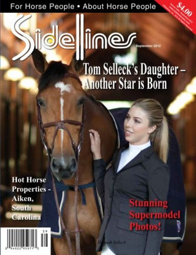 Sidelines Magazine Hannah Selleck A Star All Her Own