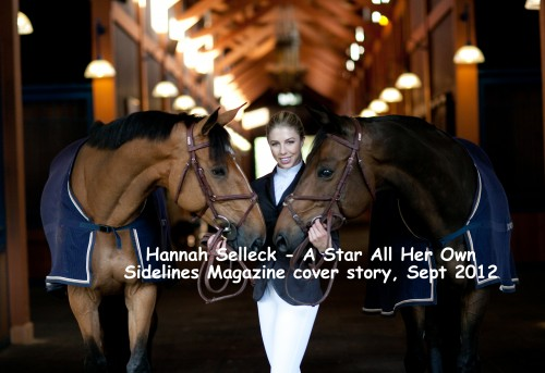 Hannah selleck a star all her own sidelines magazine for Hannah margaret mack selleck photo