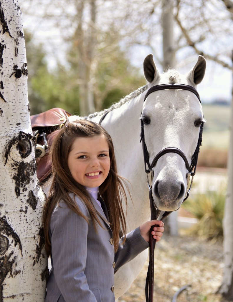 Hannah on the cover of the July issue of Sidelines! Photo by Kathleen Bryan - www.yourhorses.ifp3.com