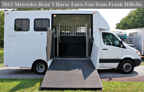 2505 classified Frank DiBella Deluxe Horse Vans