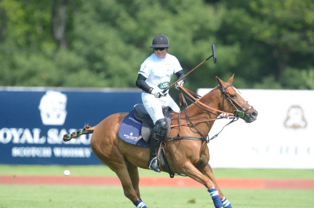 Marc Ganzi, one of the nation's top amateur players, has made it one of his life's missions to promote polo and spread his family's enthusiasm for the sport. Photo by John Robben