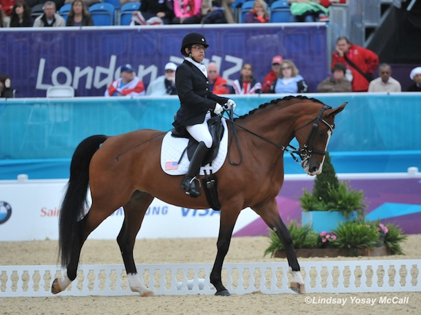 Donna and Western Rose competing in London – an experience that still gives her goose bumps and makes her heart race when she thinks about it.