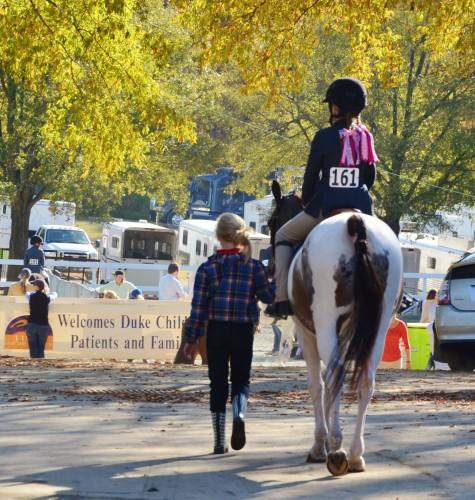 The Jump for the Children Horse Show is a fundraiser for the Duke Children's Hospital & Health Center.