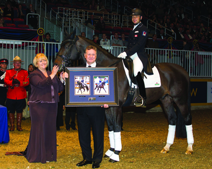 Deb Kinzinger - Dressage owner of Year Award