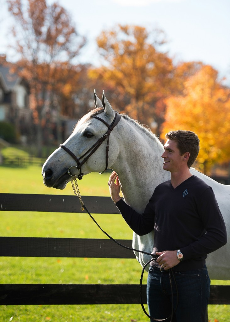 Quentin and Dark: While riding a stallion may have its challenges, it also has many rewards. Photo by Katherine Hay, www.khayphotos.com
